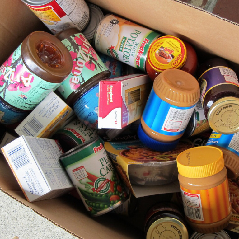 Faith Formation Food Drive Update
