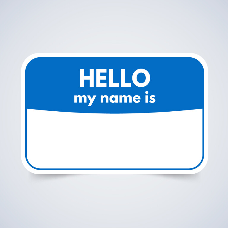 Nametags Now Available at Carmel & Indy sites!