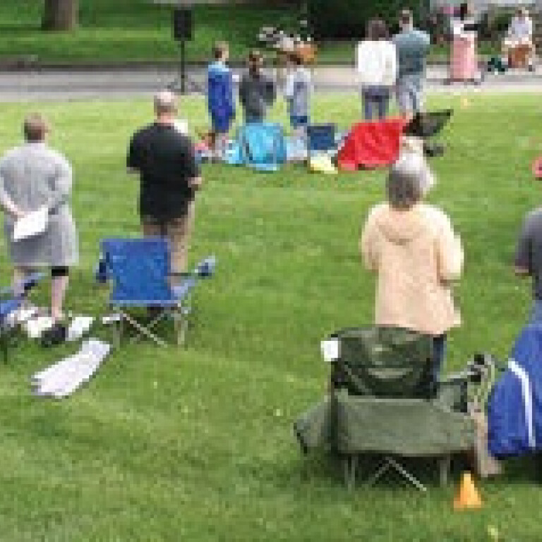 Outdoor Worship Services, Carmel & Indy