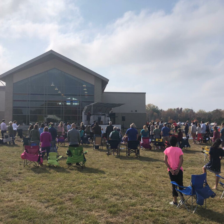 Outdoor Worship in July