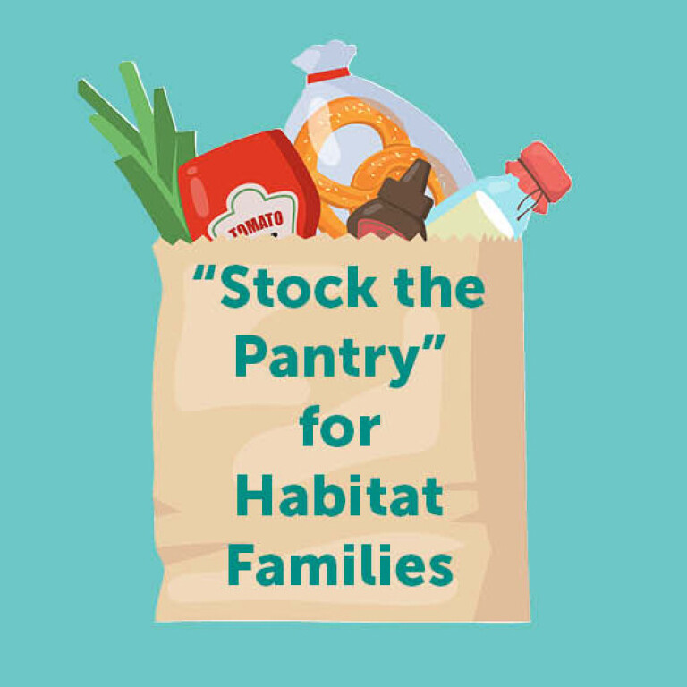 """April Collection: """"Stock the Pantry"""" Donation Drive"""